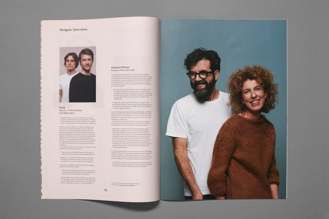 挪威当代工艺与设计展vi形象设计,企业画册设计