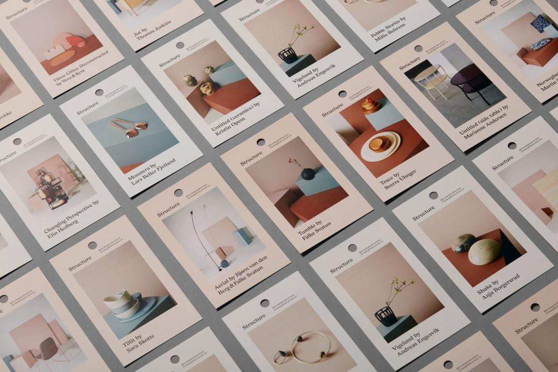 挪威当代工艺与设计展vi形象设计,公司画册设计