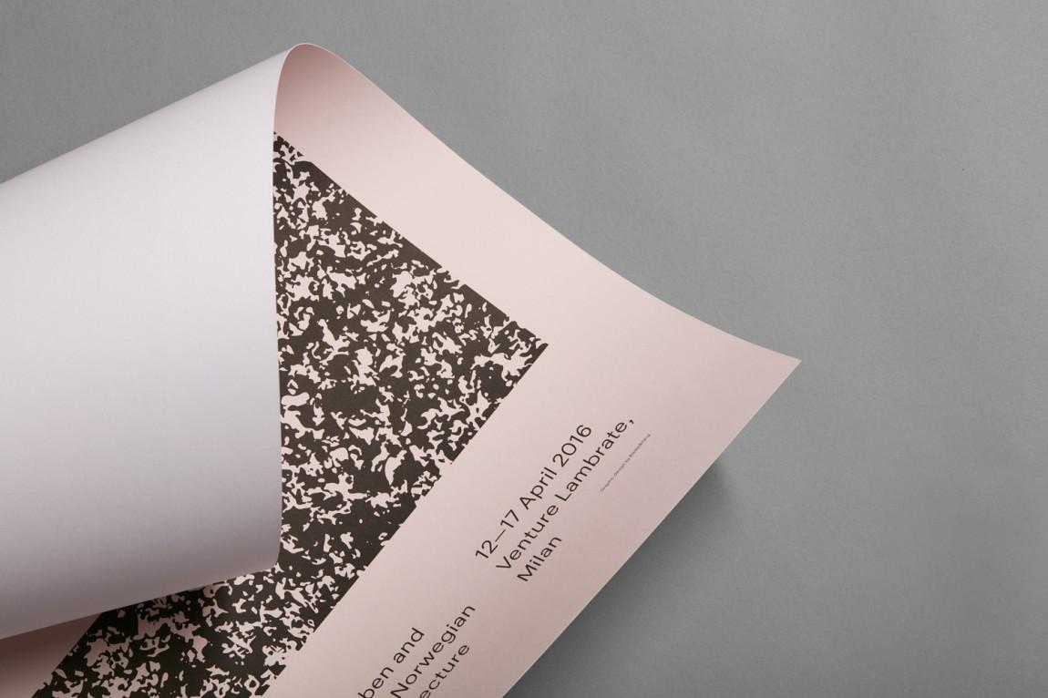 挪威当代工艺与设计展vi形象设计,广告设计