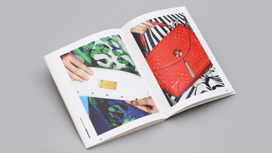 Bespoke数码润饰公司视觉传达设计,宣传册设计
