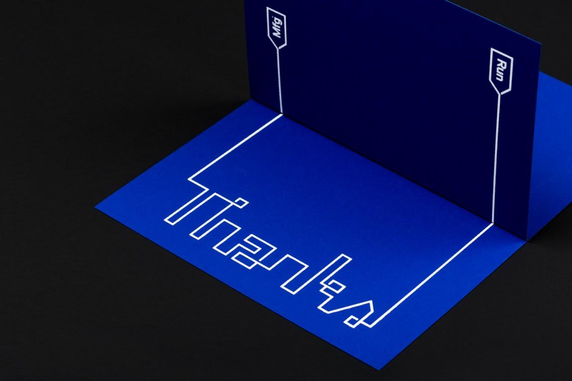 Run Mfg体育赛事设计制作公司品牌标识设计,名片设计