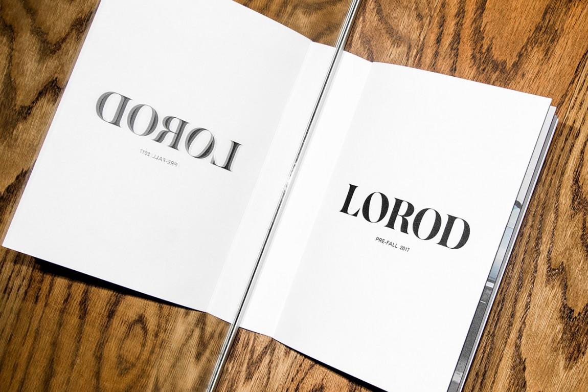美国时尚服饰品牌Lorod服装品牌设计,画册设计