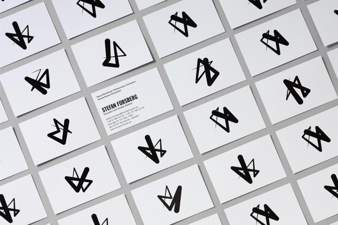 Konserthuset文化传播机构品牌形象塑造,VI设计