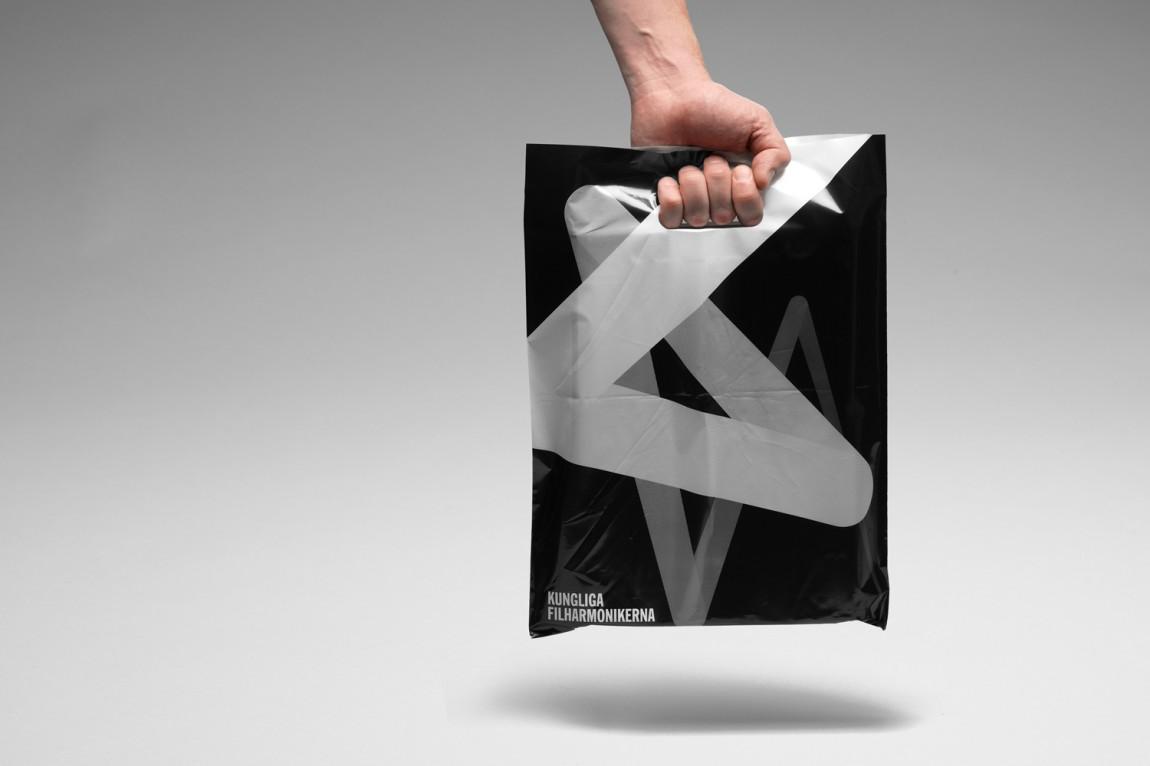 Konserthuset文化传播机构品牌形象塑造,手提袋摄影