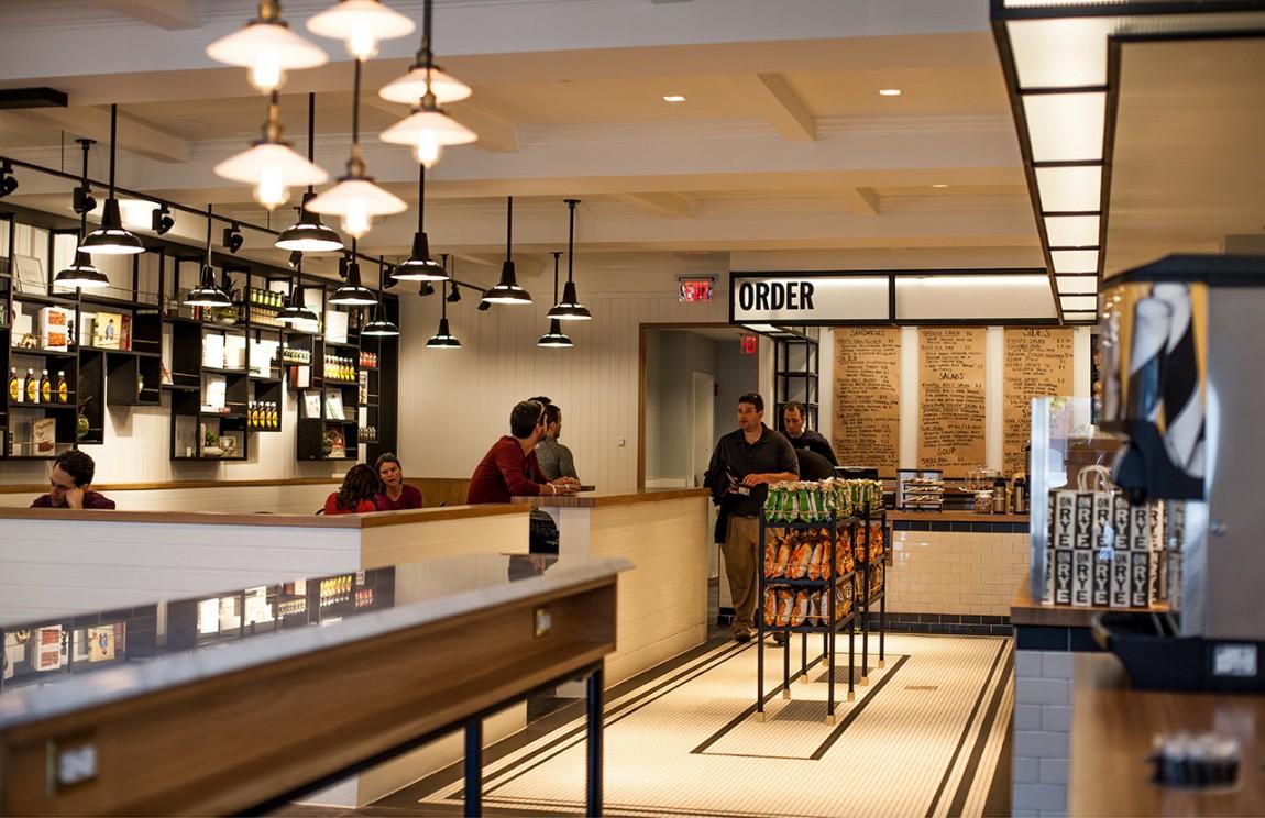 快餐连锁企业On Rye餐饮品牌全案设计,餐饮空间设计