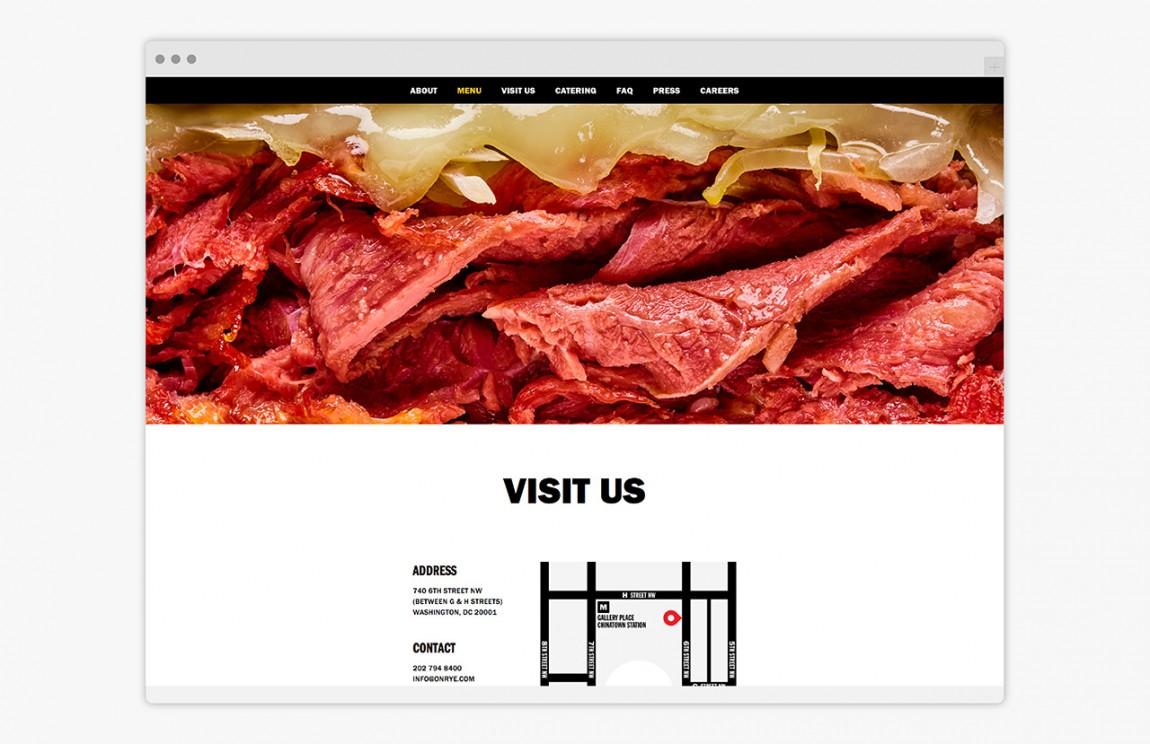 快餐连锁企业On Rye餐饮品牌全案设计