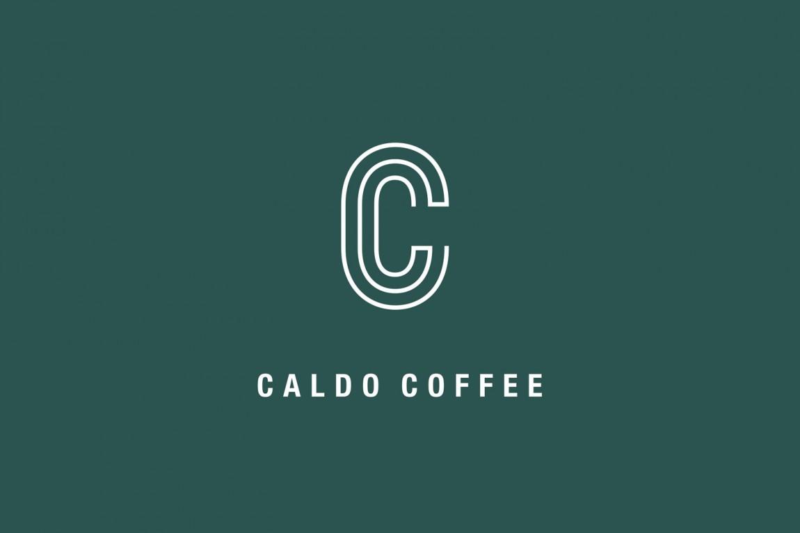 轻食咖啡馆Caldo连锁品牌标志logo设计
