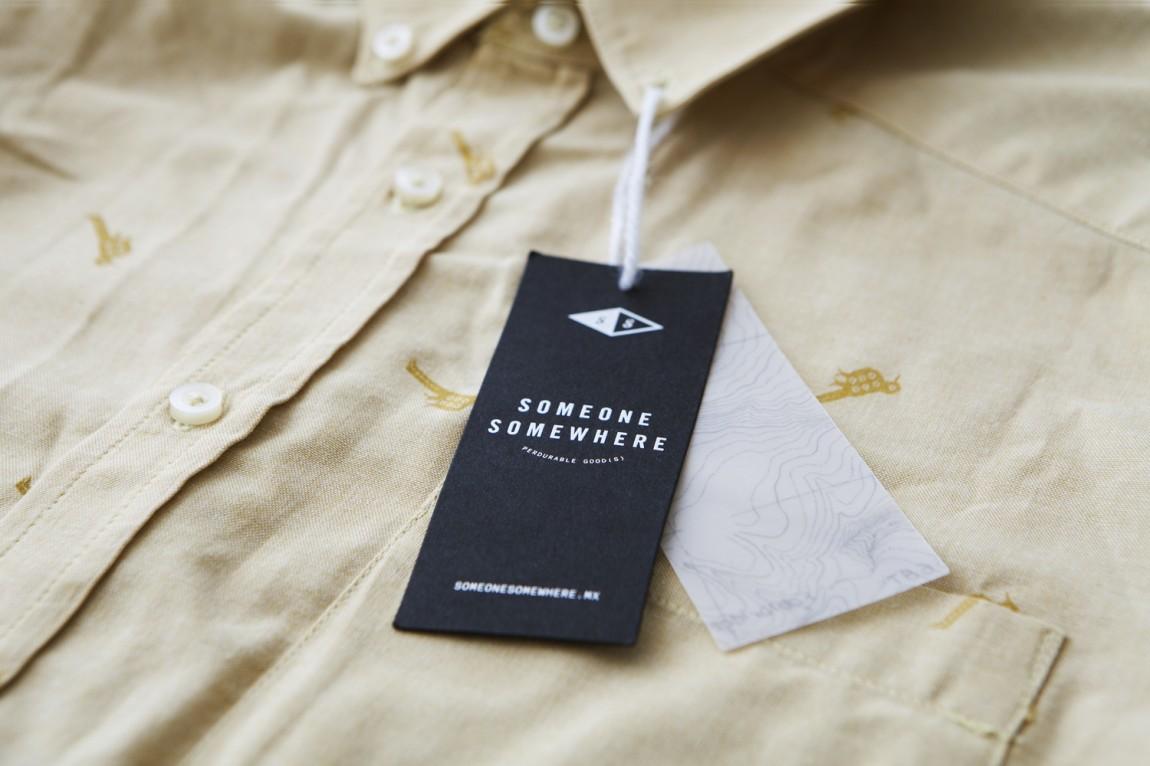 墨西哥服装品牌sosw专业品牌形象设计,吊牌设计
