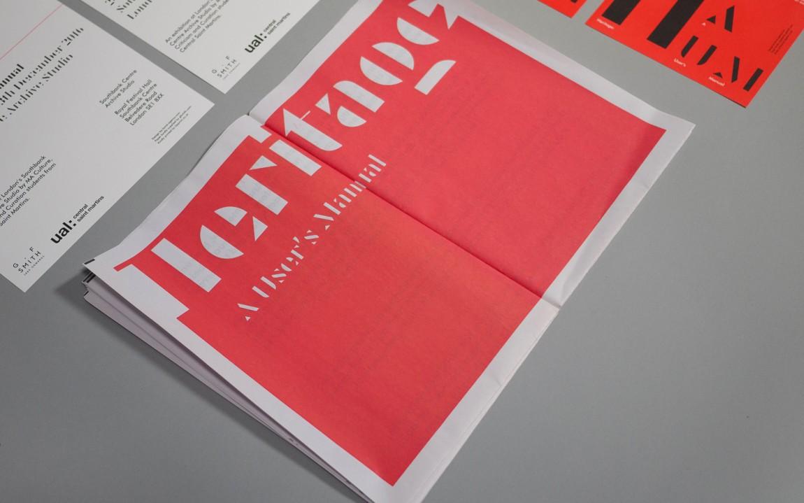 Heritage展览视觉传达设计