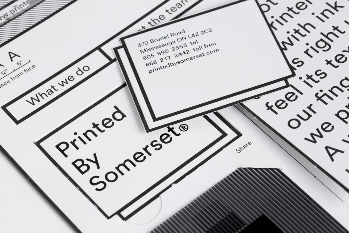 Somerset印刷公司品牌形象vi设计