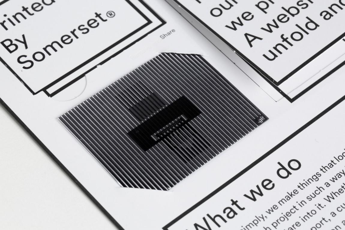 Brand identity and print communication by Leo Burnett Toronto for print production studio Somerset