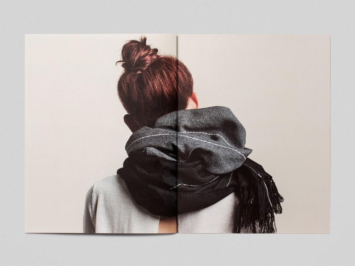 手工工匠服饰Qoni品牌形象设计,画册设计