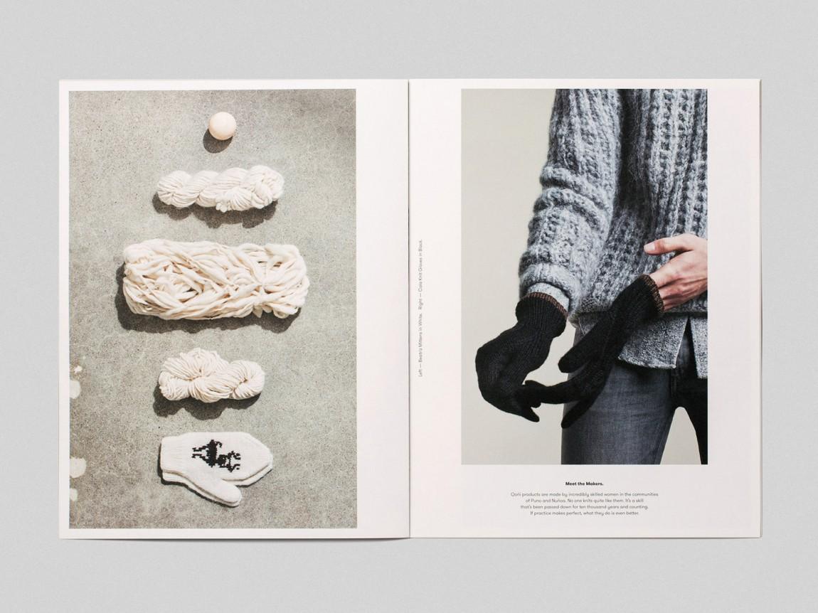 手工工匠服饰Qoni品牌形象设计,产品画册设计