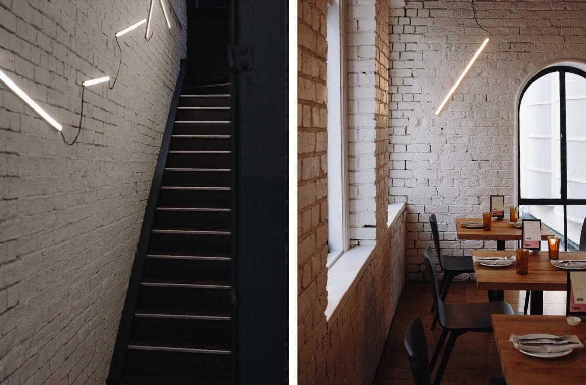 Culprit酒吧西餐厅品牌形象设计,空间设计
