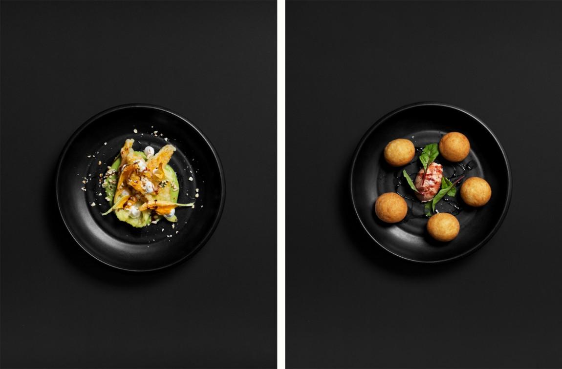 Culprit酒吧西餐厅品牌形象设计(VI设计), 菜品摄影
