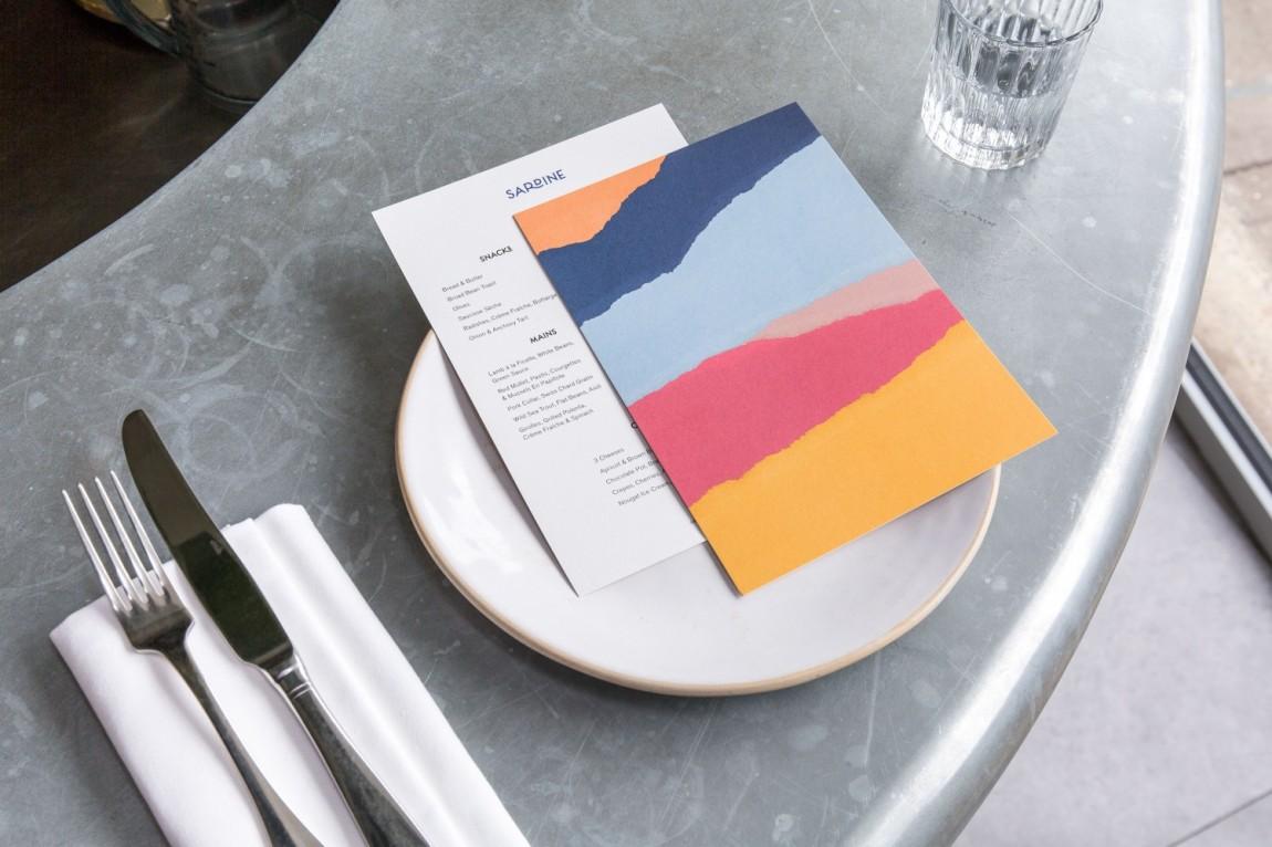 Sardine乡村餐厅餐饮品牌vi设计,菜单设计