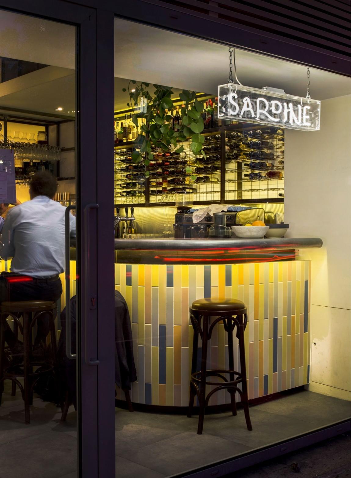 Sardine乡村餐厅餐饮品牌vi设计,餐厅空间设计
