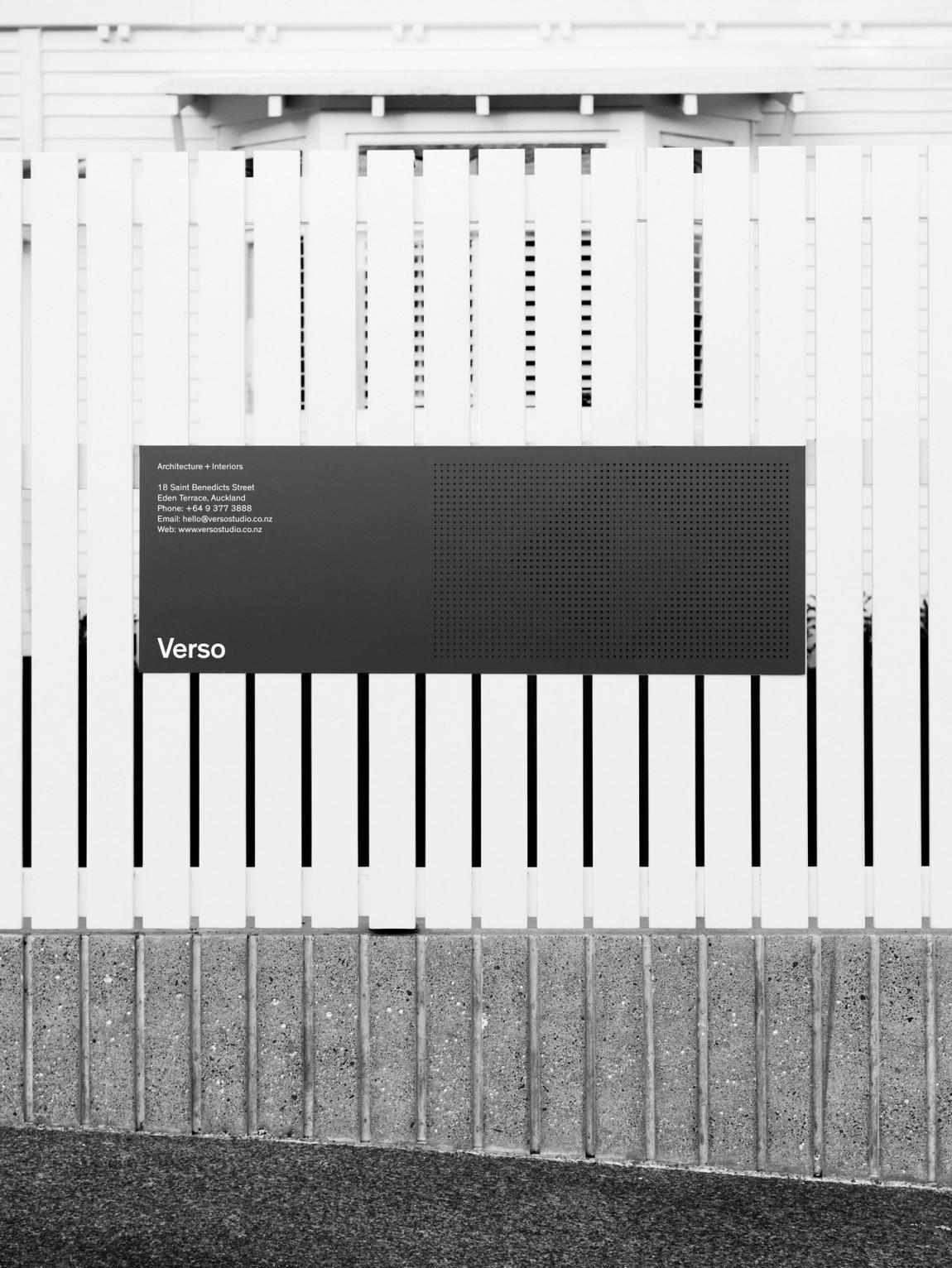 Verso建筑空间设计公司企业形象VI设计, 标识标牌设计
