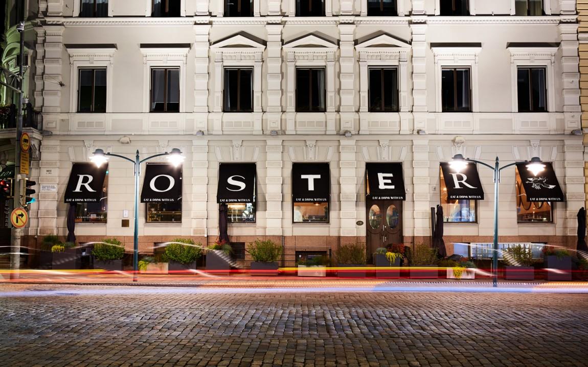 Roster餐厅餐饮Vi设计,户外招牌设计
