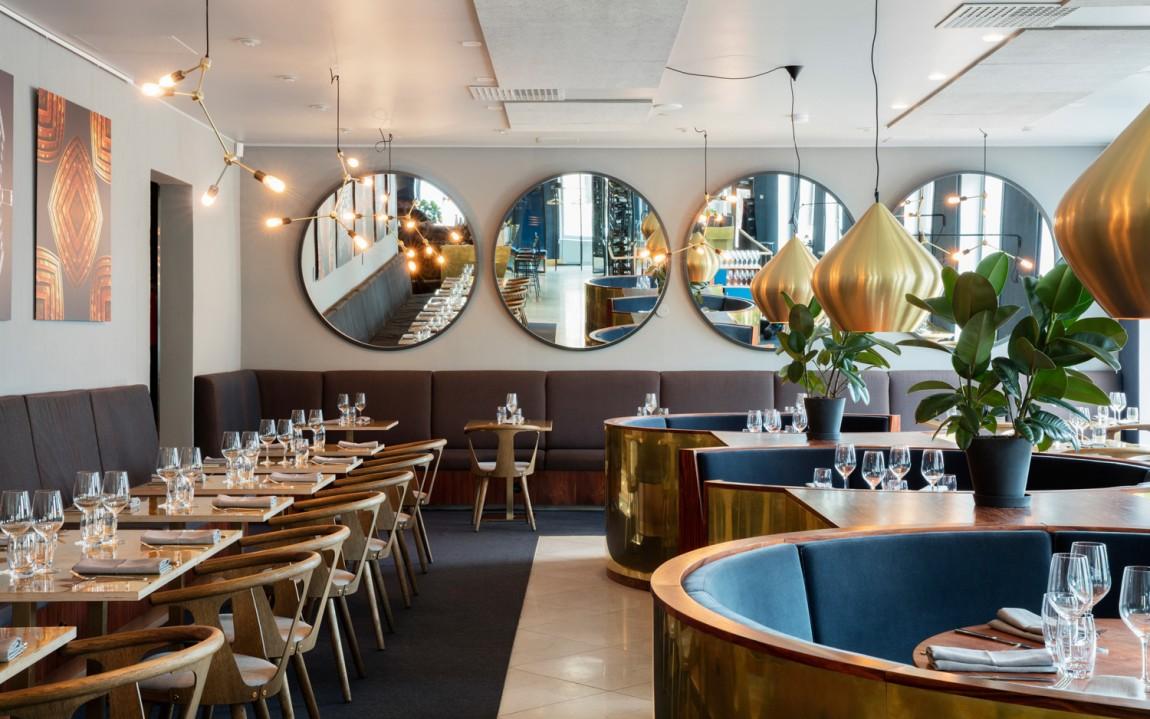 Roster餐厅餐饮Vi设计,餐厅空间设计