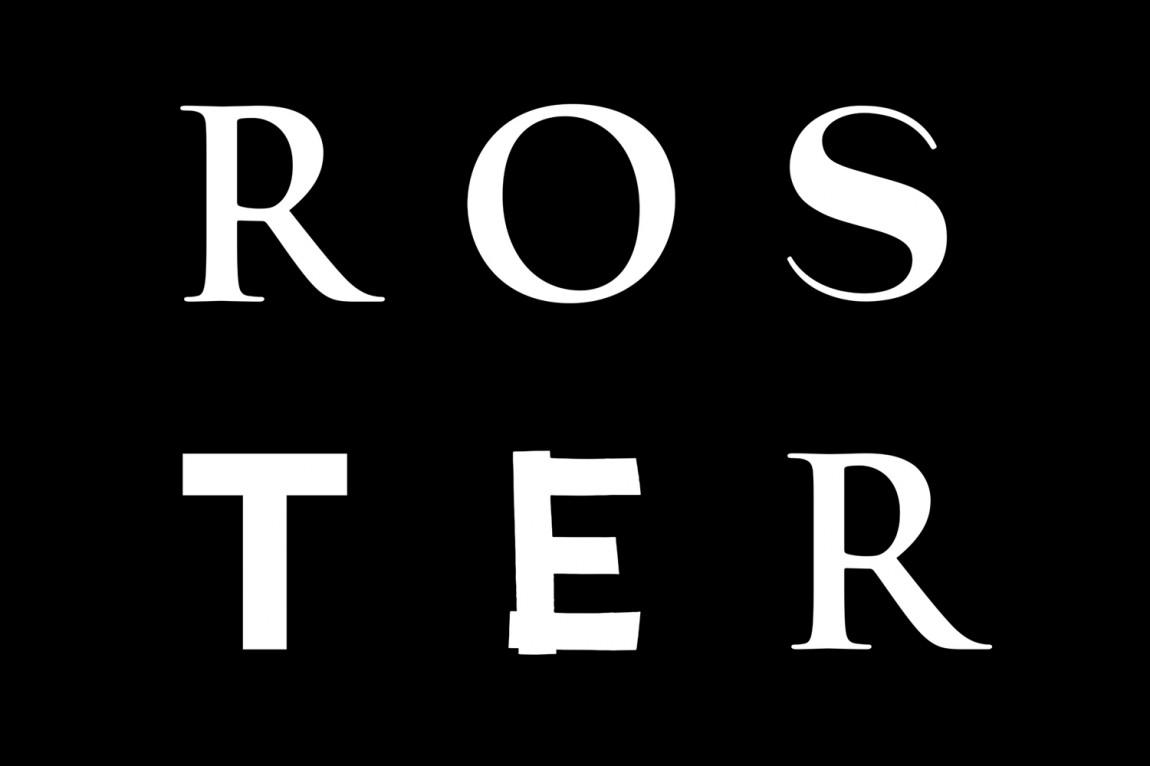 Roster餐厅餐饮Vi设计,logo设计