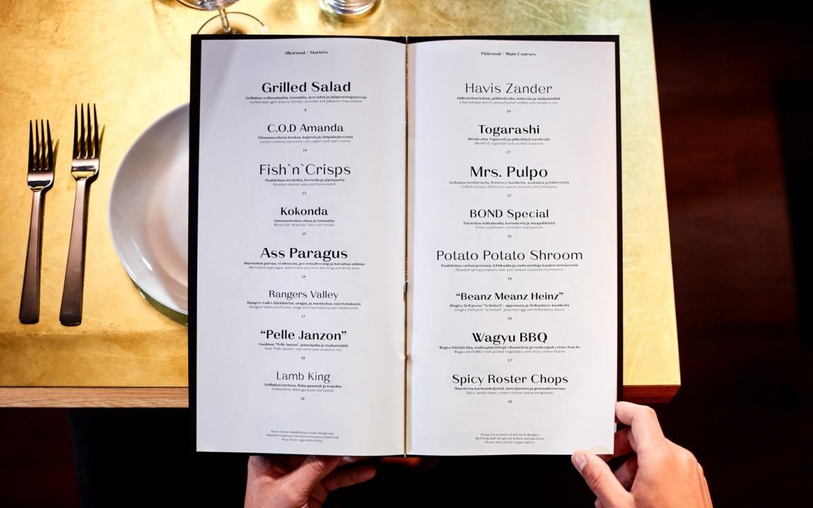 Roster餐厅餐饮Vi设计,菜单设计