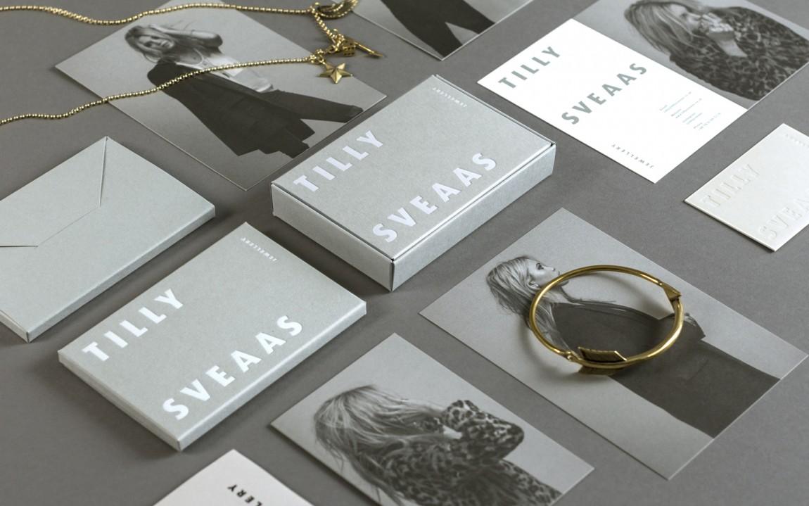 Tilly Sveaas珠宝VI设计,字体logo设计,包装设计
