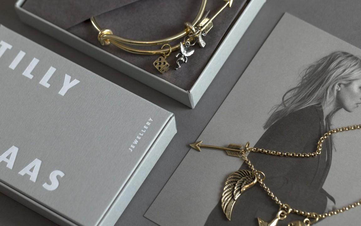Tilly Sveaas珠宝VI设计,印刷物料设计