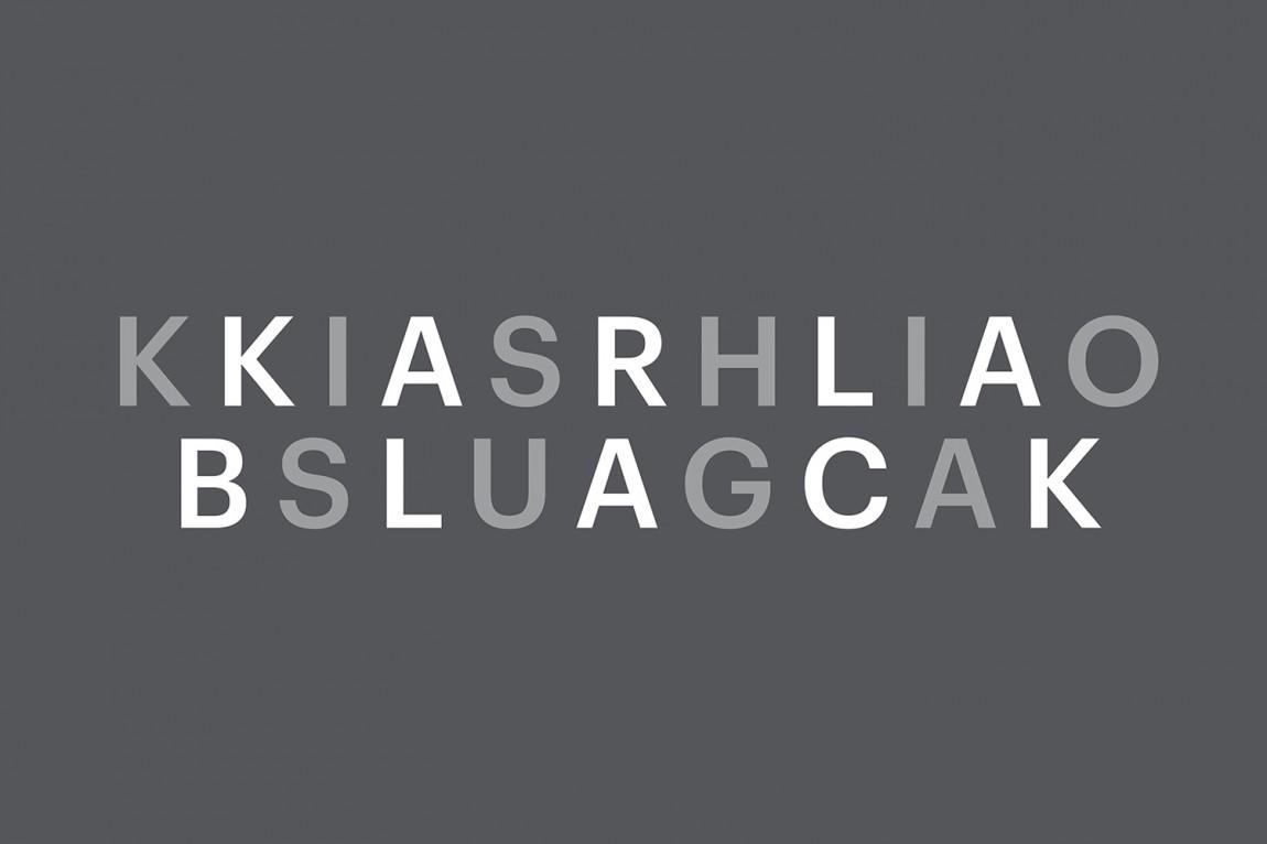 雕塑作品展视觉传达设计,logo设计