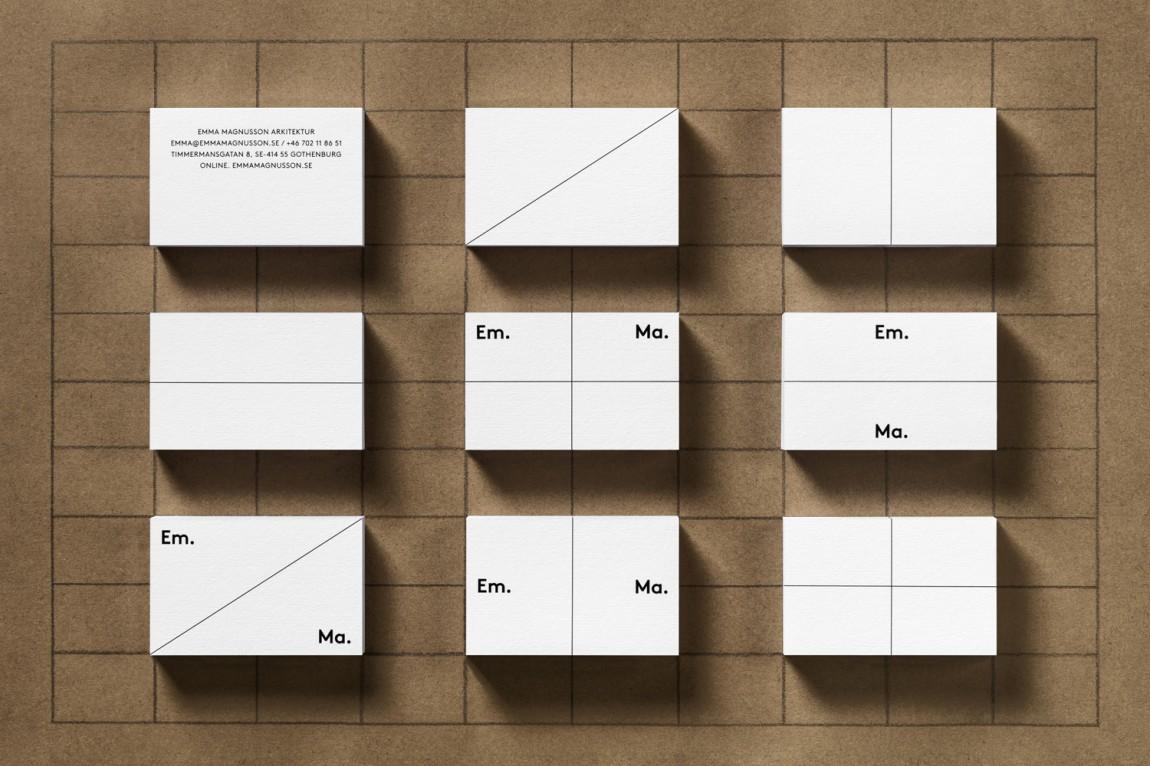 Em.Ma.个人品牌形象视觉识别设计塑造