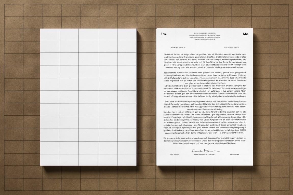Em.Ma.个人品牌形象视觉识别设计塑造,办公应用设计