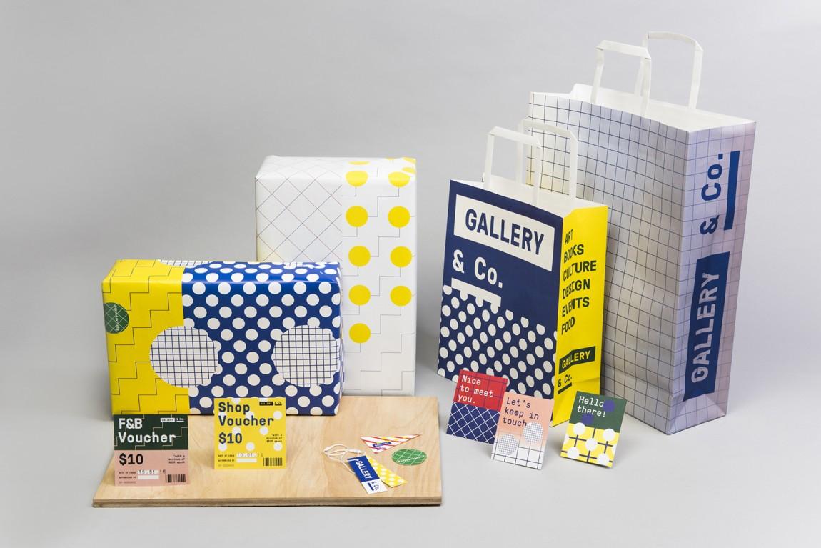 新加坡国家美术馆食品饮料零售商和咖啡馆品牌VI设计,包装设计