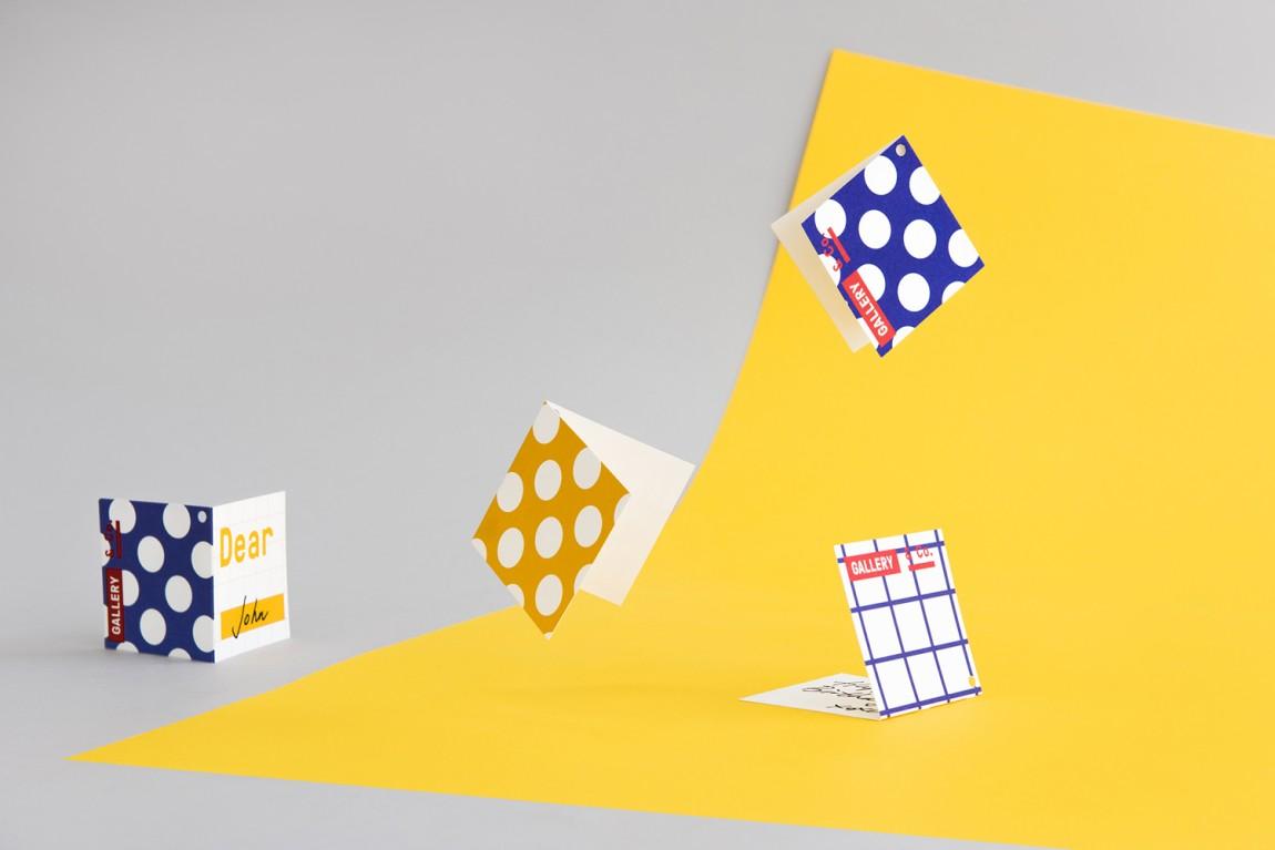新加坡国家美术馆食品饮料零售商和咖啡馆品牌VI设计,折页设计