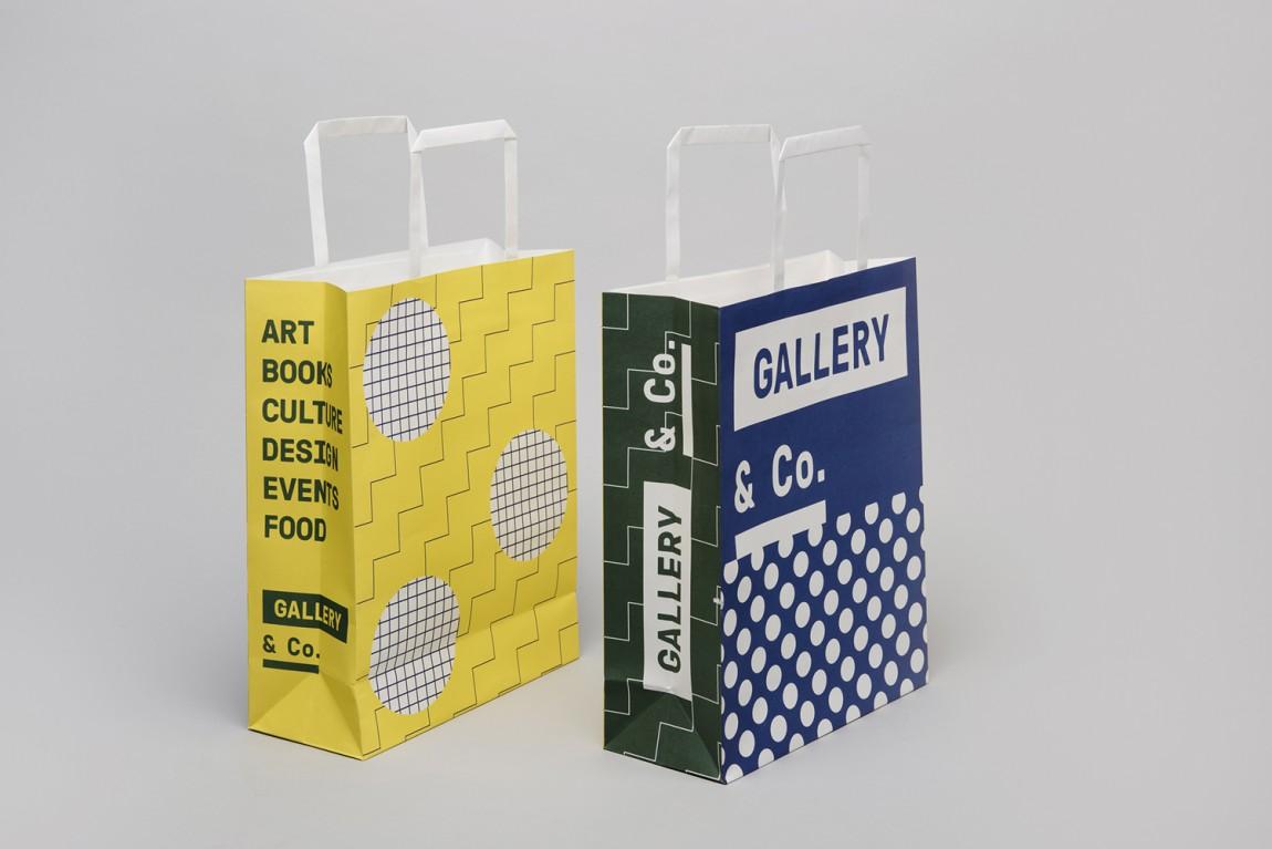 新加坡国家美术馆食品饮料零售商和咖啡馆品牌VI设计,手提袋设计