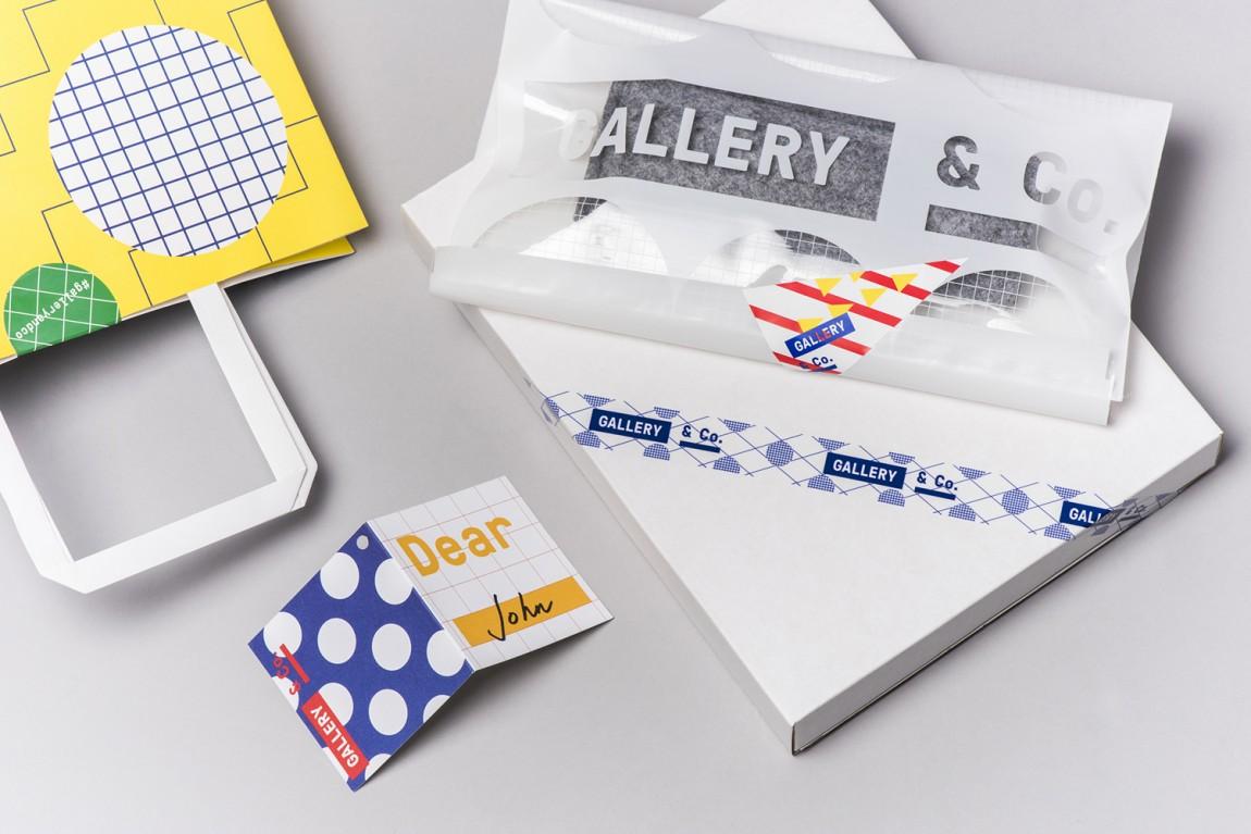 新加坡国家美术馆食品饮料零售商和咖啡馆品牌VI设计,市场推广设计