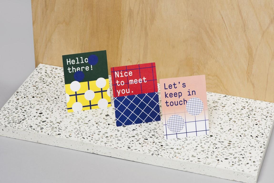 新加坡国家美术馆食品饮料零售商和咖啡馆品牌VI设计,卡片设计