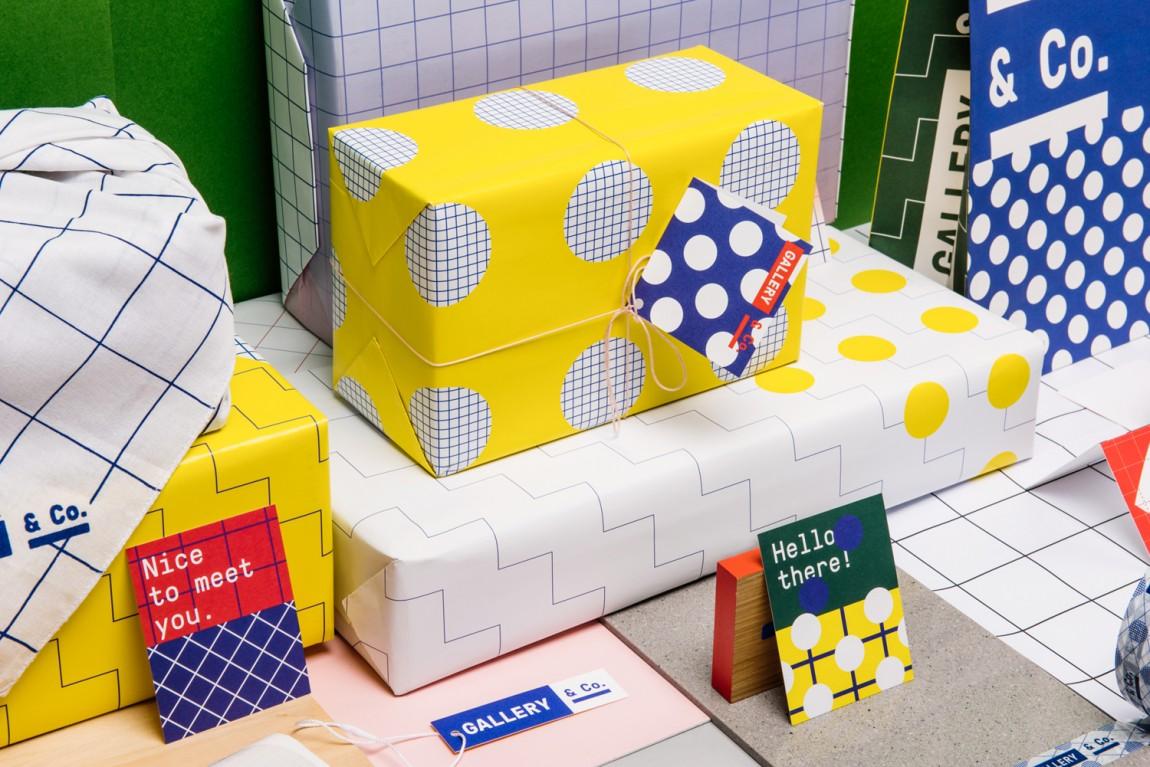 新加坡国家美术馆食品饮料零售商和咖啡馆品牌VI设计