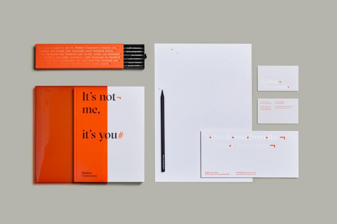 Hidden Characters公关广告产品形象设计,办公应用设计
