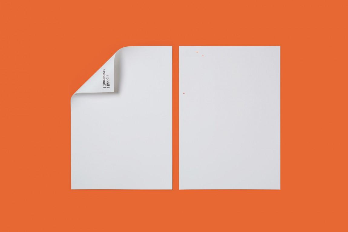 Hidden Characters公关广告产品形象设计,信纸设计
