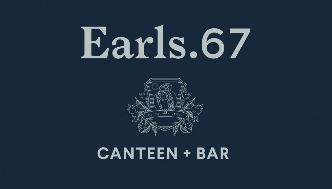 Earls.67酒吧餐饮VI设计,logo设计