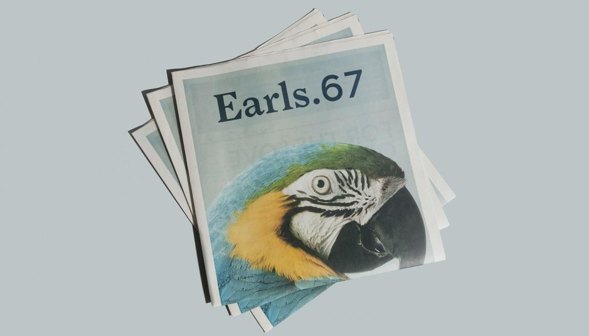 Earls.67酒吧餐饮VI设计