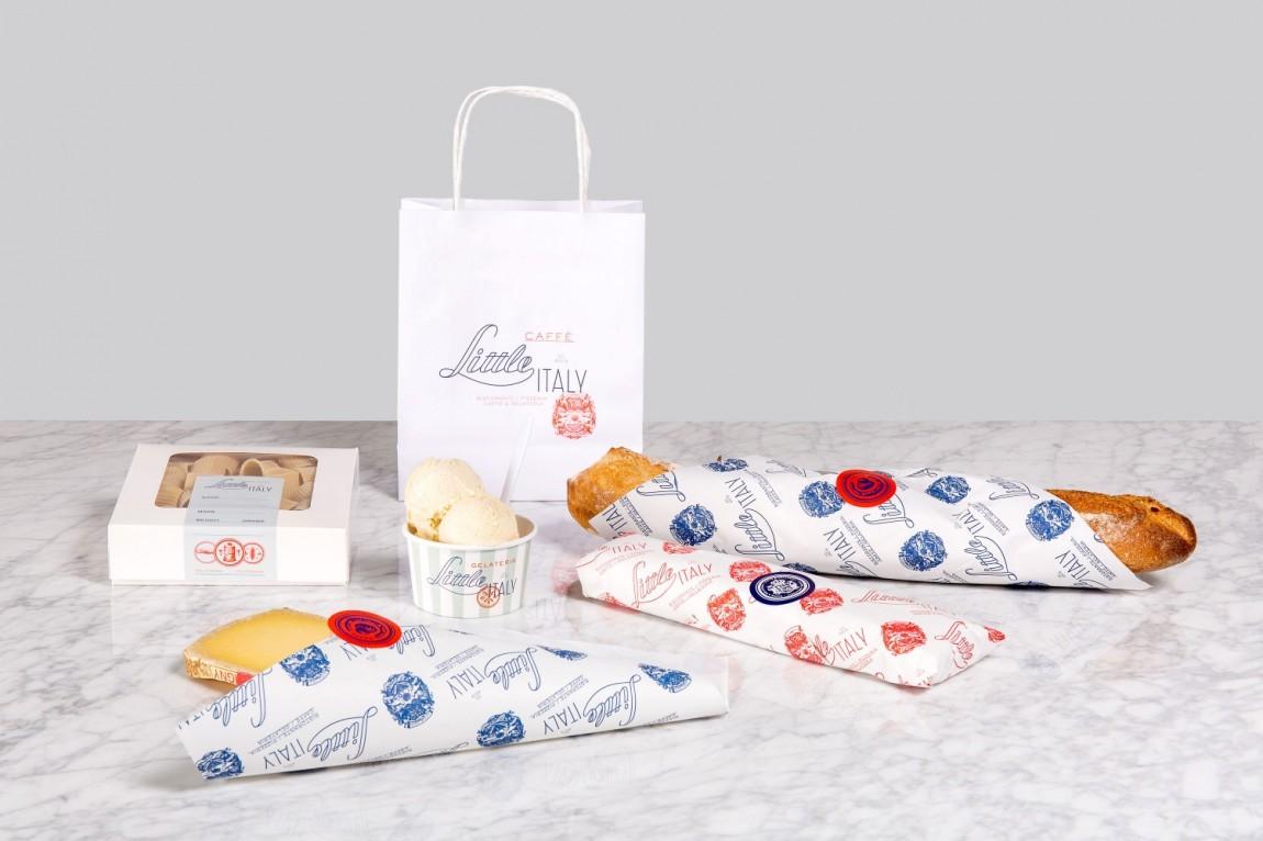 Little Italy意大利餐厅VI设计,市场推广设计
