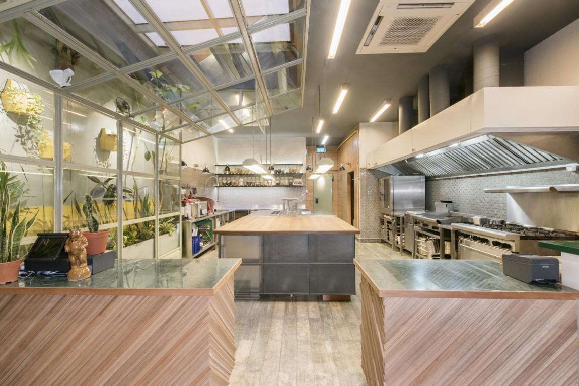 美式乡村自然复古熟食店PBD品牌形象VI设计,店面空间设计