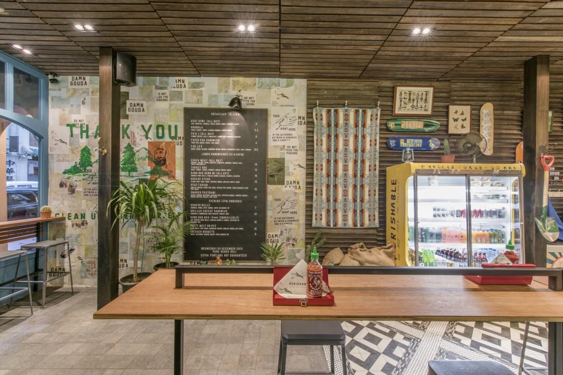 美式乡村自然复古熟食店PBD品牌形象VI设计,专卖店设计