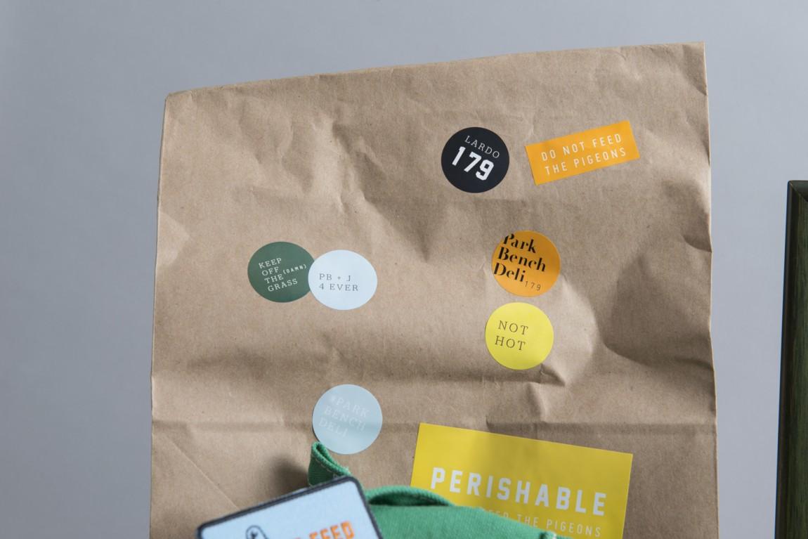 美式乡村自然复古熟食店PBD品牌形象VI设计,外卖包装设计