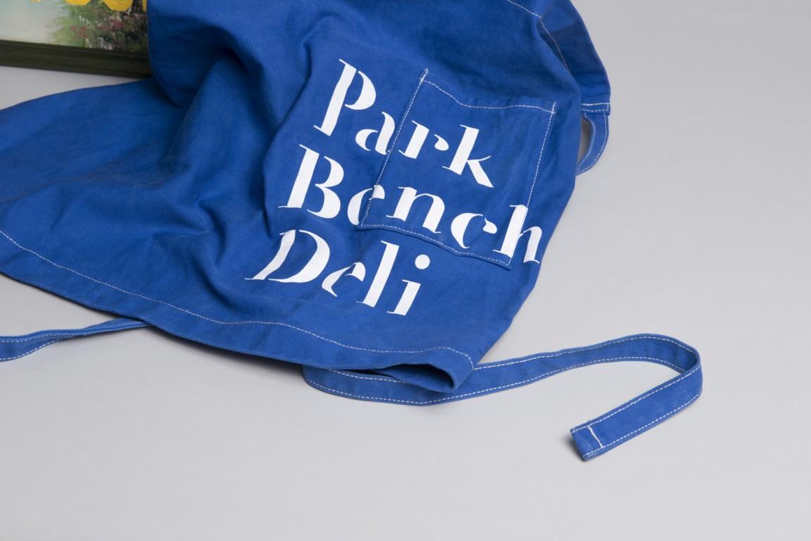 美式乡村自然复古熟食店PBD品牌形象VI设计,围裙设计