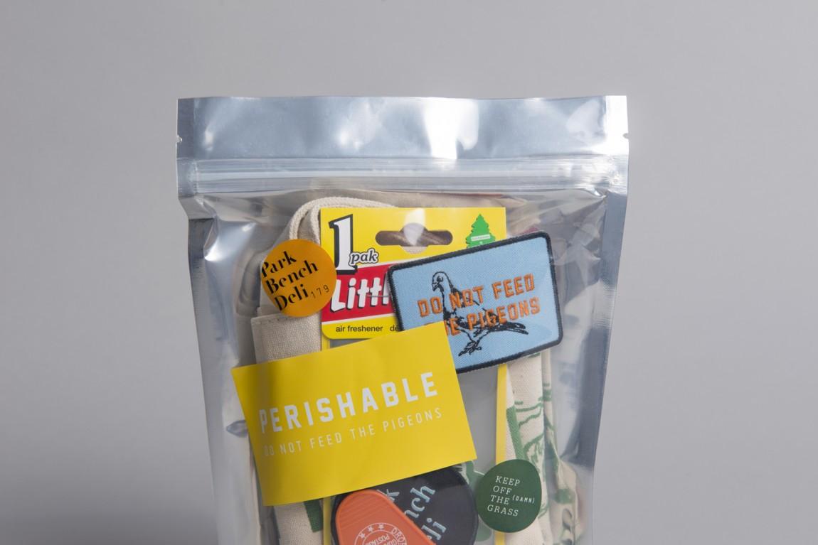 美式乡村自然复古熟食店PBD品牌形象VI设计,食品包装设计