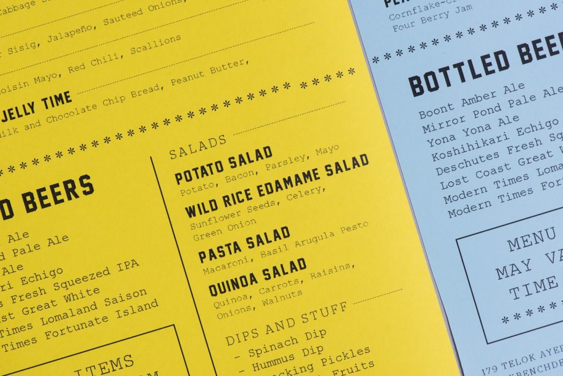 美式乡村自然复古熟食店PBD品牌形象VI设计,菜单设计