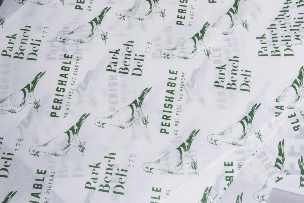 美式乡村自然复古熟食店PBD品牌形象VI设计