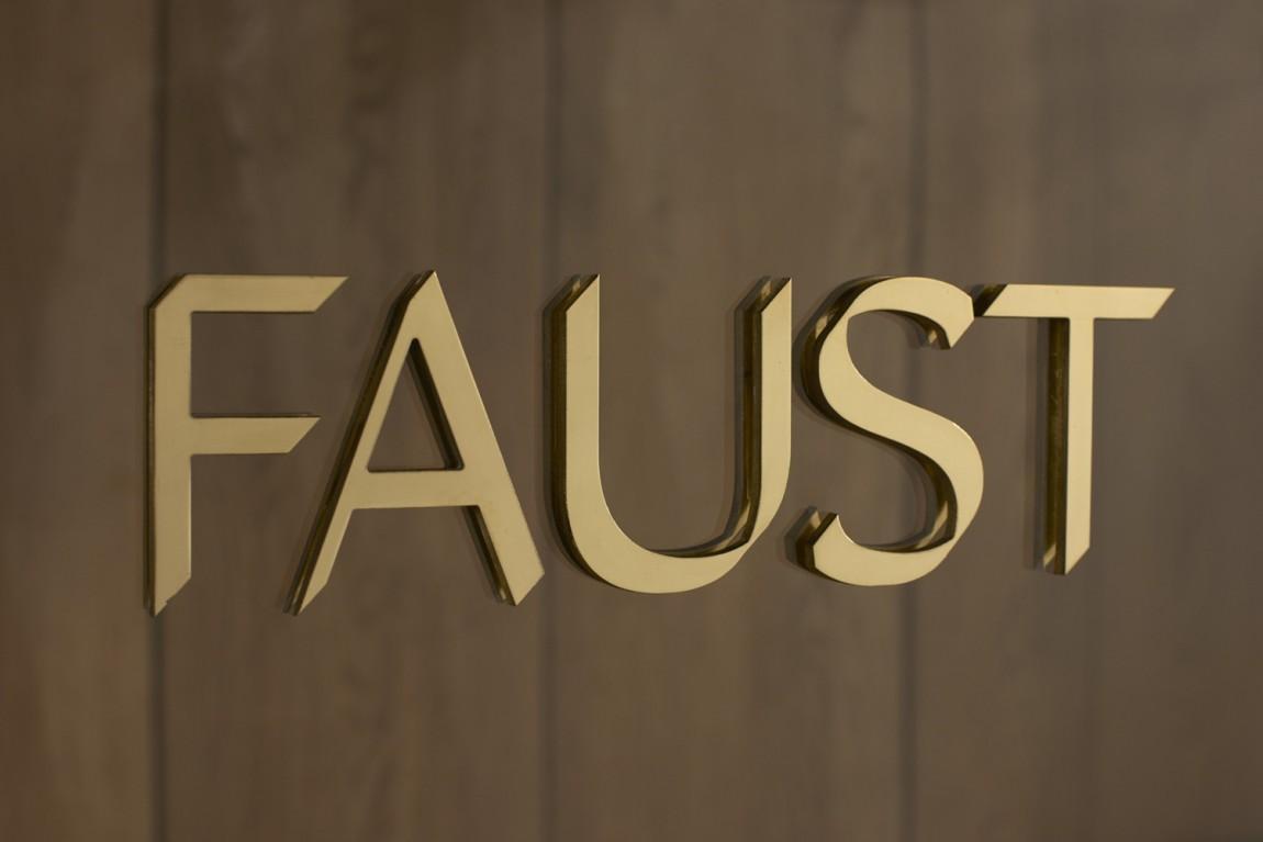Faust高端制鞋企业logo设计,品牌vi设计
